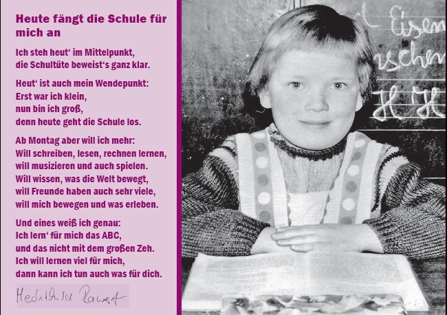 Herzlichen Glückwunsch Zur Einschulung Spd Tempelhof Schöneberg